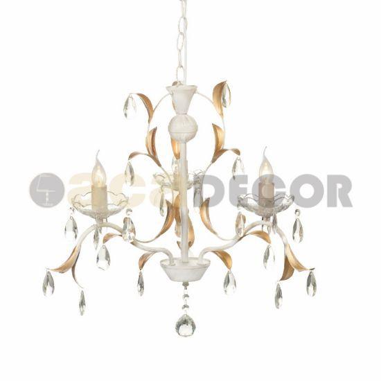 ACA ACA Lighting Elegant závesné svietidlo DL9343PWG