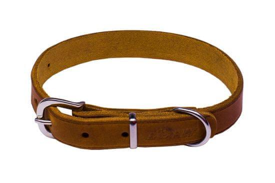 BAFPET ovratnica za psa ZUBR, mastna koža
