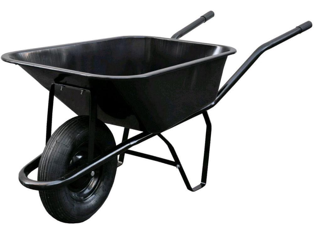 MAT kolečko stavební 80l, nafukovací, nosnost 100kg