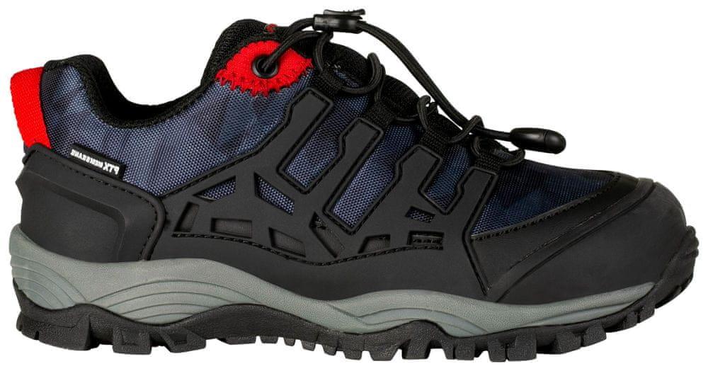 ALPINE PRO dětská outdorová obuv Golovino 32 černá/modrá