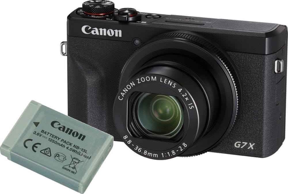 Canon PowerShot G7 X Mark III Battery Kit Black (3637C014)