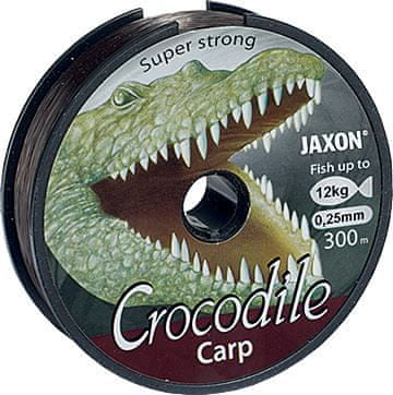 Jaxon Vlasec Crocodile Carp 600m 0,25mm