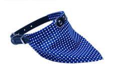 BAFPET Obojek+bavlněný šátek PUNTÍK 40 cm černá