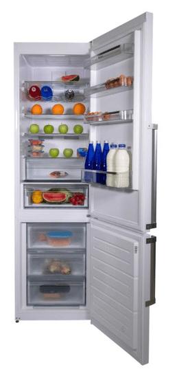 Romo lednice s mrazákem RCN379LXA++ - zánovní