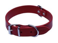 BAFPET Argus ovratnica, gladka, 45 cm, rdeča