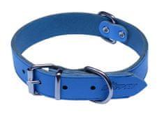 BAFPET Argus ovratnica, gladka, 40 cm, svetlo modra