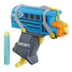 NERF broń Microshots Fortnite BATTLE BUS