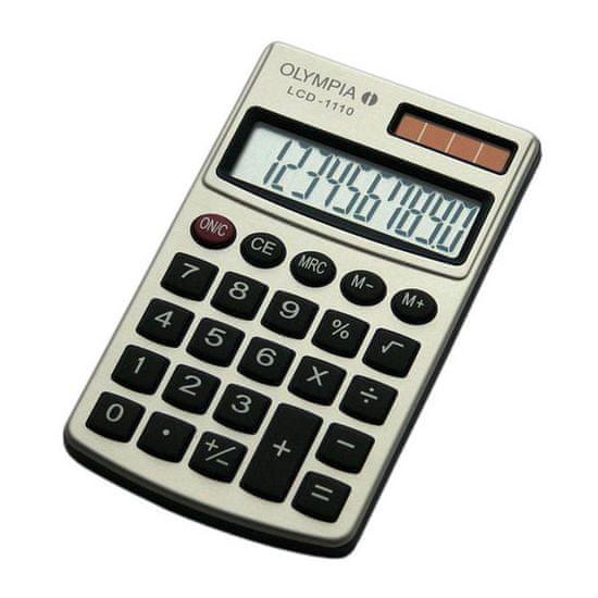 Olympia kalkulator LCD-1110, srebrn