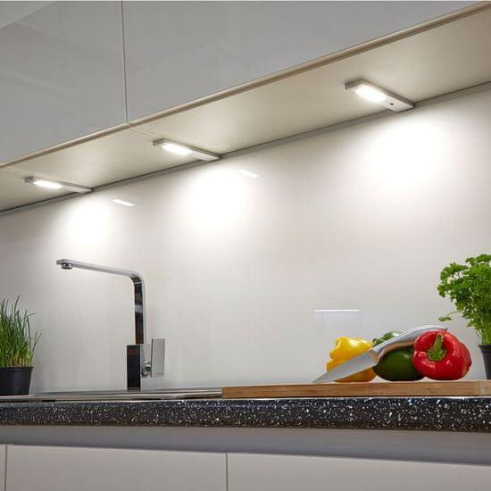 Sensio Quadra Modern LED luč, podelementna, s senzorjem (SE21192C0)