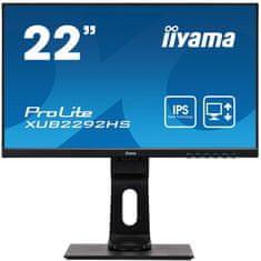 "iiyama ProLite XUB2292HS-B1 monitor, 54,6 cm (21,5"")"