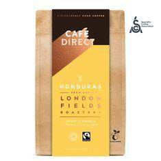 Cafédirect BIO mletá káva Honduras SCA 83 s tóny karamelu a oříšků 200 g