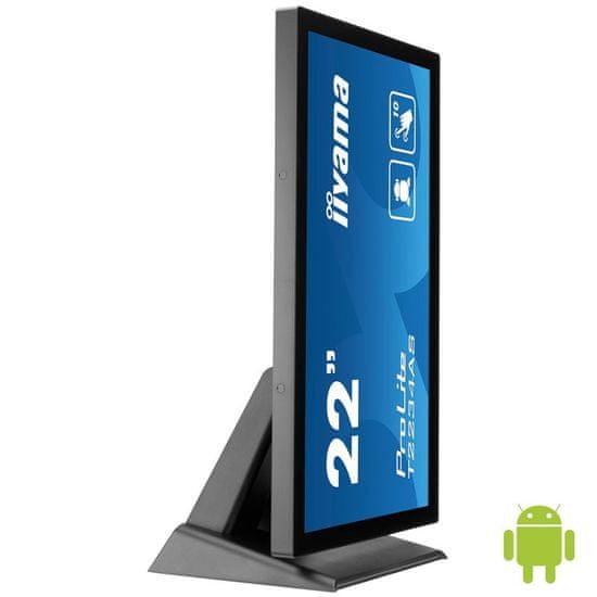 "iiyama ProLite T2234AS-B1 AiO monitor, 54,6 cm (21,5""), Android, občutljiv na dotik"