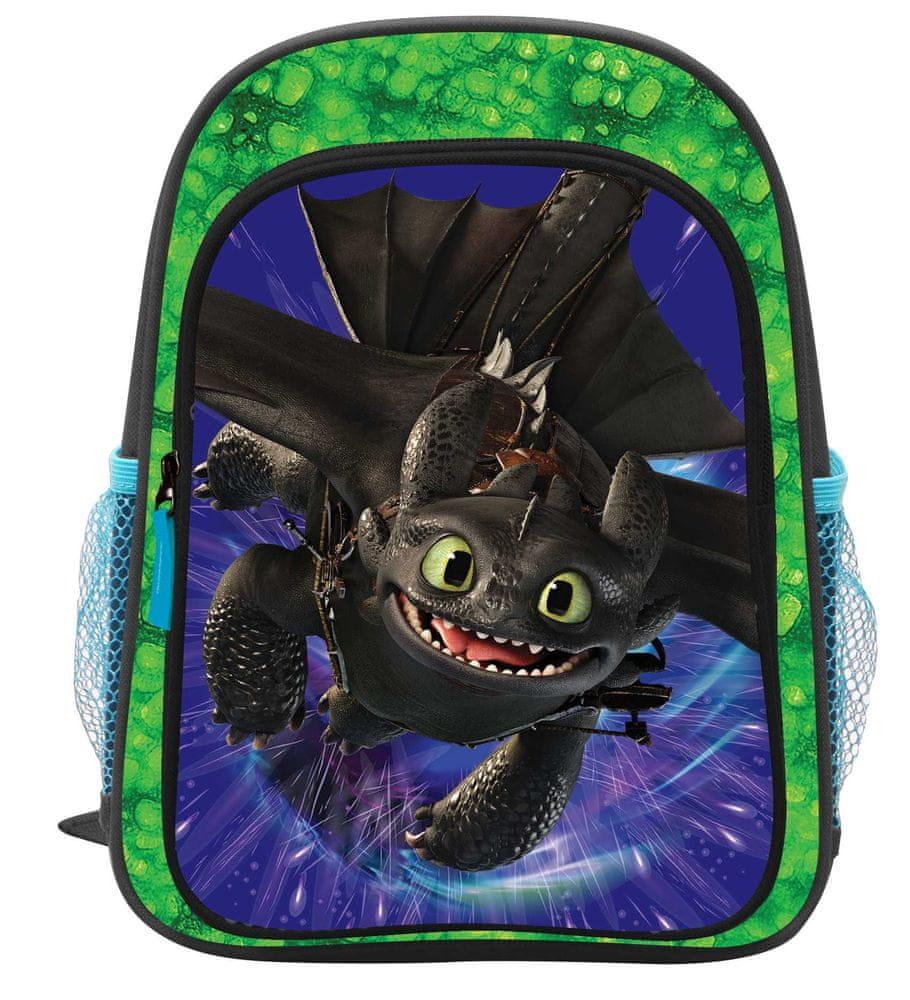 Karton P+P Dětský předškolní batoh Jak vycvičit draka