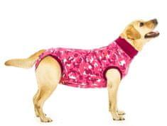 Suitical Pooperačné ochranné oblečenie pre fenu ružové