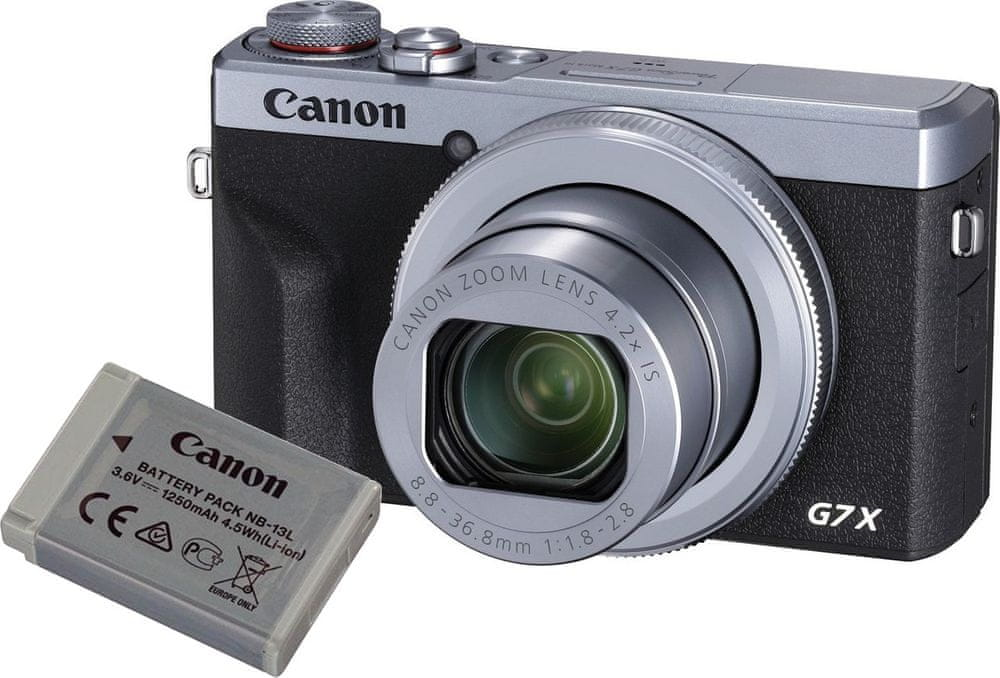 Canon PowerShot G7 X Mark III Battery Kit Silver (3638C014)