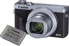 Canon aparat PowerShot G7 X Mark III Battery Kit Silver (3638C014)