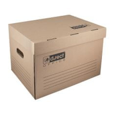 Leviatan arhivska škatla s pokrovom, 431x333x294mm, 110588