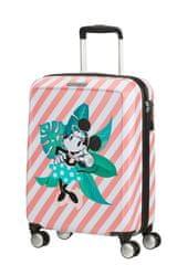 American Tourister Kabinový cestovní kufr Funlight Disney Spinner 36 l Minnie Miami Holiday
