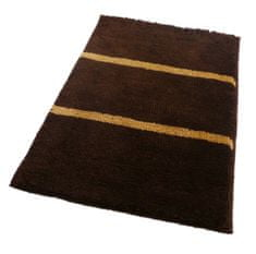 ROUTNER Fürdőszoba-szőnyeg, cseh produkció, IRSINA Barna - 50 x 80 cm