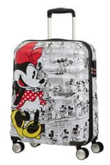American Tourister Kabinový cestovní kufr Wavebreaker Disney Spinner 36 l Minnie Comics White
