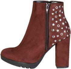 Made In Italia dámská kotníková obuv hnědá 38