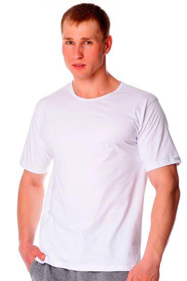 Cornette Pánské tričko 202 new white - CORNETTE
