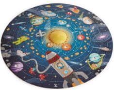 Hape Dětské puzzle - Sluneční soustava LED