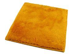 ROUTNER Koupelnová předložka, česká výroba, UNI COLOR II žlutá - 50 x 60 cm