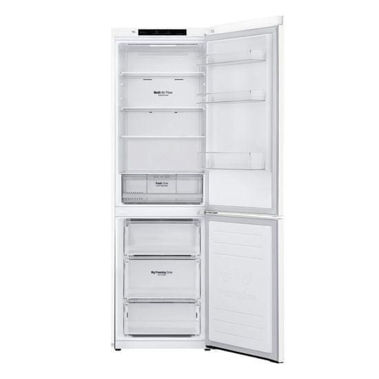 LG lednice GBP31SWLZN + 10 let záruka na lineární kompresor