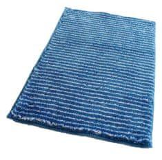 ROUTNER Fürdőszoba-szőnyeg, cseh produkció, PESCINA Kék - 50 x 80 cm