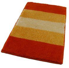ROUTNER Fürdőszoba-szőnyeg, cseh produkció, BARLETTA Narancssárga - 50 x 80 cm