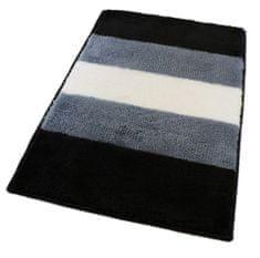 ROUTNER Fürdőszoba-szőnyeg, cseh produkció, BARLETTA Szürke - 50 x 80 cm