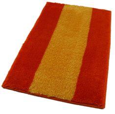 ROUTNER Fürdőszoba-szőnyeg, cseh produkció, ATHENA Narancssárga - 50 x 80 cm