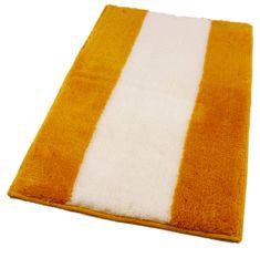 ROUTNER Fürdőszoba-szőnyeg, cseh produkció, ATHENA Sárga - 50 x 80 cm