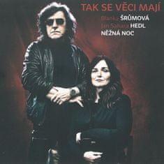 Šrumová Blanka, Hedl Jan Sahara: Něžná noc - CD