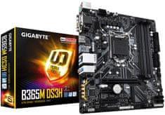 Gigabyte B365M DS3H, DDR4, USB 3.1 Gen1, LGA1151, Micro ATX osnovna plošča