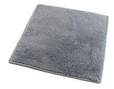 ROUTNER Koupelnová předložka, česká výroba, UNI COLOR II šedá - 50 x 60 cm