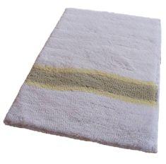 ROUTNER Fürdőszoba-szőnyeg, cseh produkció, LAVELLO Fehér - 50 x 80 cm
