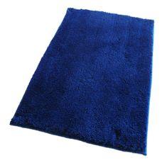 ROUTNER Fürdőszoba-szőnyeg, cseh produkció, COTTON Kék - 50 x 80 cm