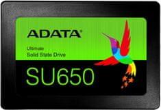 "A-Data SU650 3D NAND, 2,5"" - 120GB ASU650SS-120GT-R"