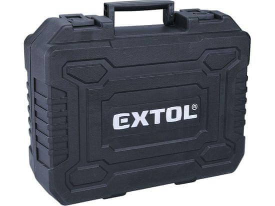 Extol Premium Vrtací šroubovák aku s příklepem, 2x2000mAh, 20V Li-Ion, EXTOL PREMIUM SHARE20V