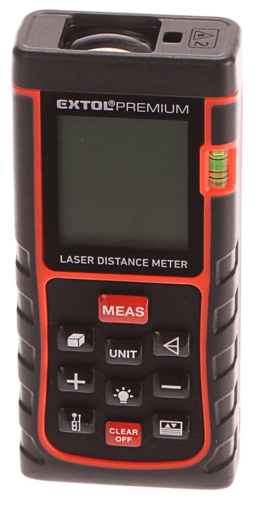 Extol Premium Metr laserový digitální, 0,05-40m