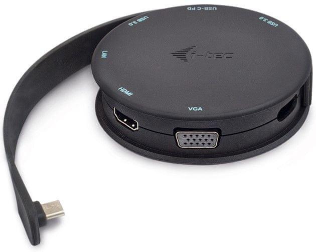 I-TEC USB-C Pocket Dock 4K HDMI / VGA, PD C31POCKET4KDOCKPD