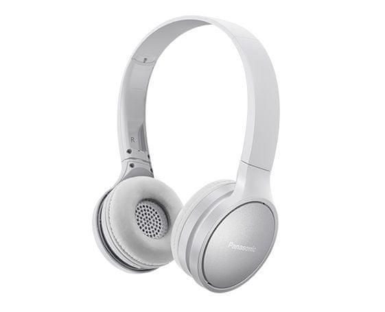 Panasonic RP-HF410BE bezdrátová sluchátka, bílá