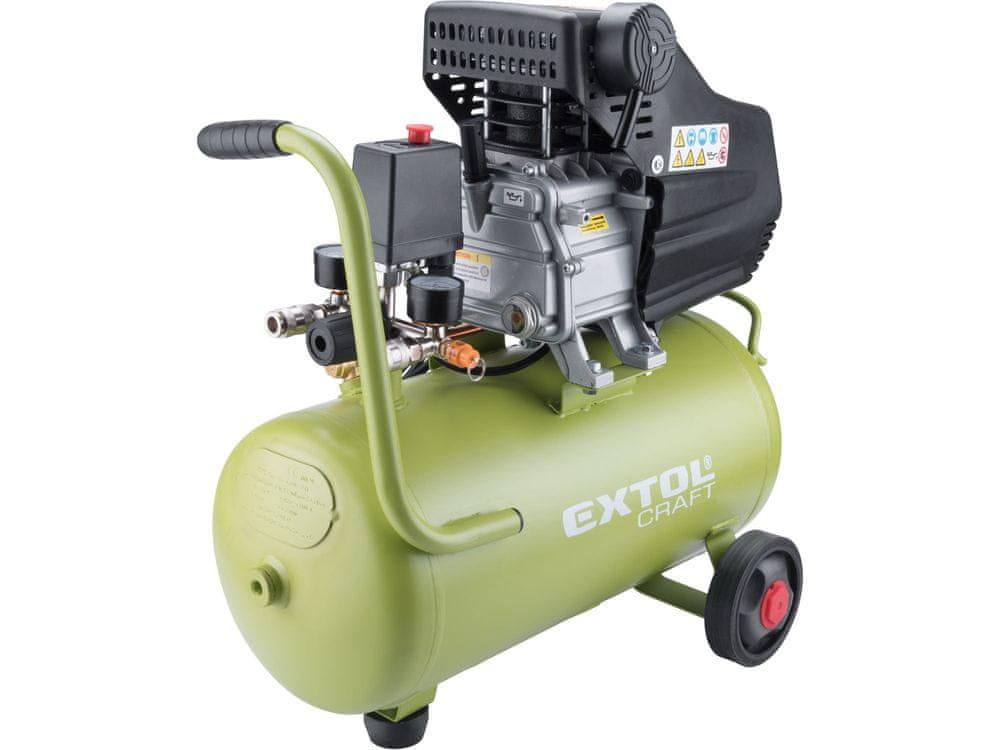 Extol Craft Kompresor olejový, 2800/min, 24l