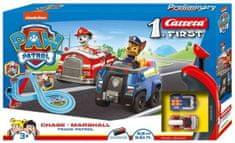 CARRERA Autodráha FIRST - 63031 PAW Patrol Chase a Marshall Track Patrol
