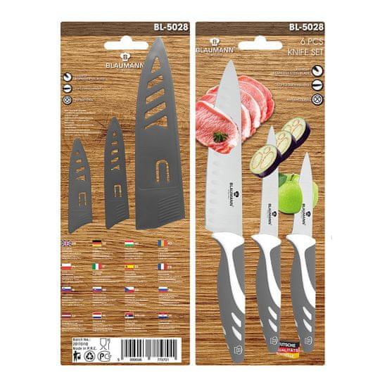 Blaumann Sada nožů s nepřilnavým povrchem, 3 ks