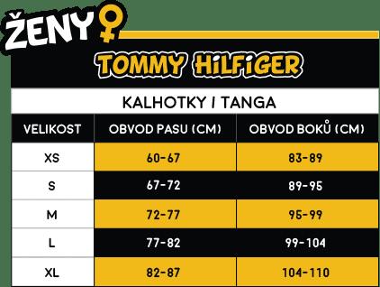 Tommy Hilfiger Dámska tangá tmavo modrá (UW0UW00058 416)