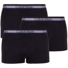 Calvin Klein 3PACK pánske boxerky čierne (NB1799A-001) - veľkosť M