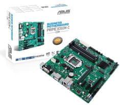 Asus PRIME B360M-C/CSM, DDR4, USB 3.1 Gen2, LGA1151, mATX osnovna plošča - Odprta embalaža